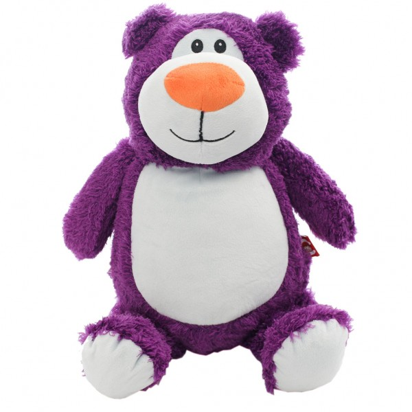Bear Cubbie Purple