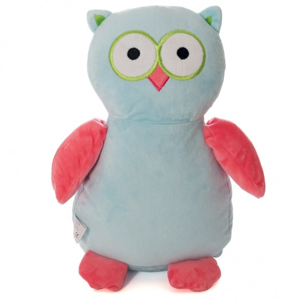 Owl Blue Pink
