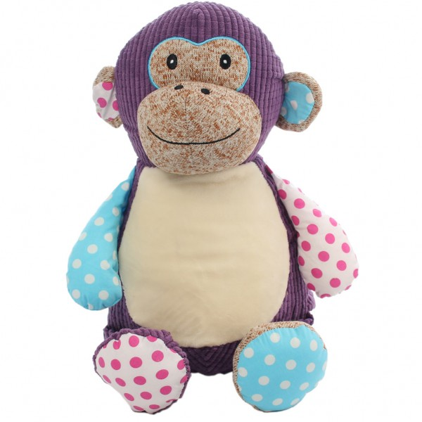 Monkey Patch Cubbie Purple