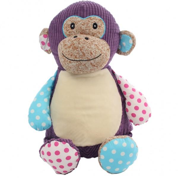 Monkey Patch Cubbie Purple