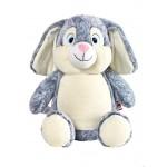 Bunny Cubbie Grey