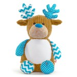 Christmas Reindeer Blue
