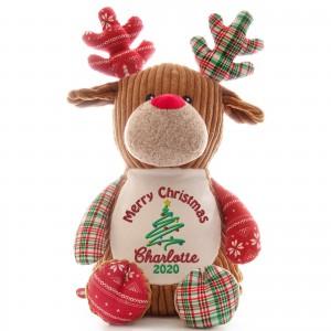 Christmas Reindeer Patchwork NEW