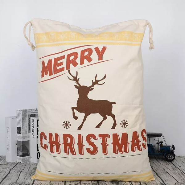 Personalised Christmas Sack - Merry Christmas