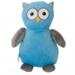 Owl Blue Grey