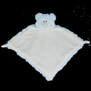 Bear Blue Blanket