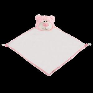 Bear Pink Blanket