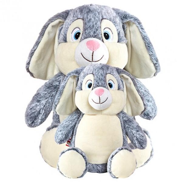 Bunny Cubbie Grey Large