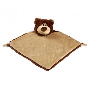 Bear Brown Blanket