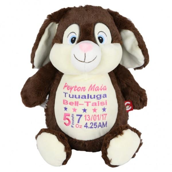 Bunny Cubbie Brown