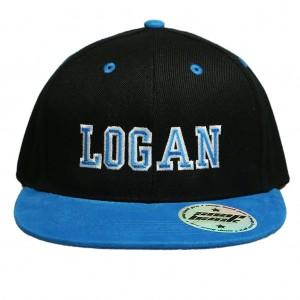 Black / Cyan Hat