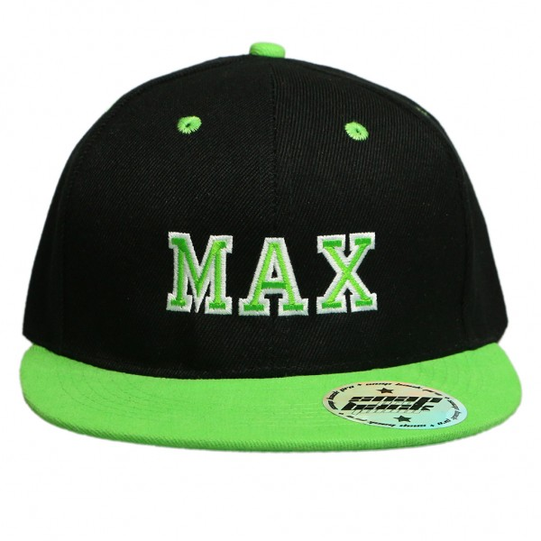 Black / Green Hat