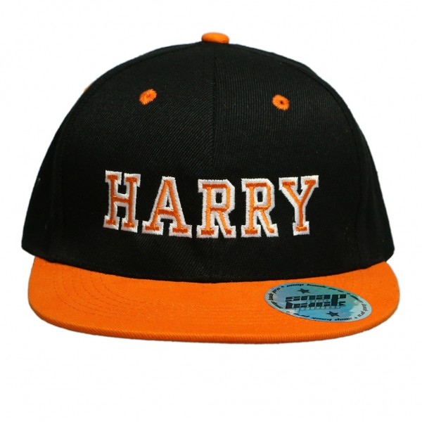 Black / Orange Hat
