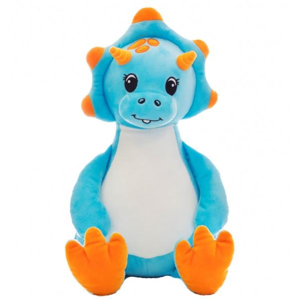 Dinosaur Blue Cubbie