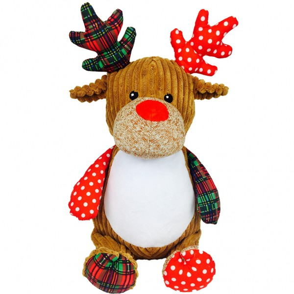 Christmas Reindeer Patchwork