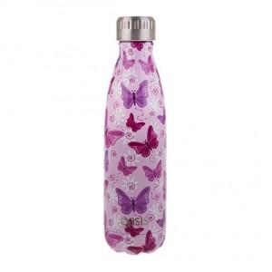 Personalised Drink Bottle Butterflies 500ml