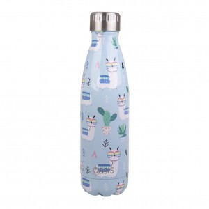 Personalised Drink Bottle Drama Llama 500ml