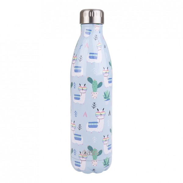 Personalised Drink Bottle Drama Llama 750ml
