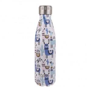 Personalised Drink Bottle Llamas 500ml
