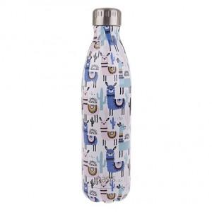 Personalised Drink Bottle Llamas 750ml