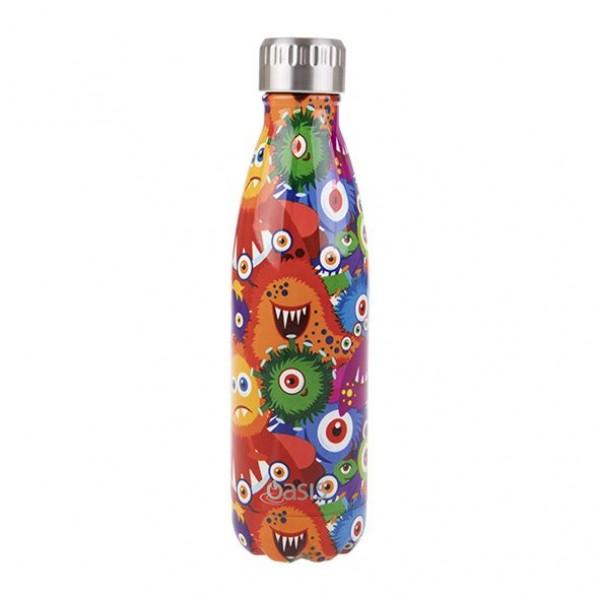 Personalised Drink Bottle Monsters 500ml