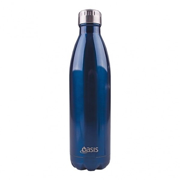 Personalised Drink Bottle Navy 750ml