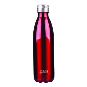 Personalised Drink Bottle Red 750ml