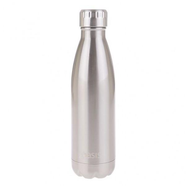 Personalised Drink Bottle Silver 500ml