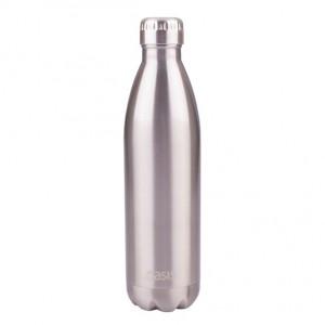 Personalised Drink Bottle Silver 750ml