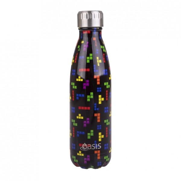 Personalised Drink Bottle Tetrimino 500ml