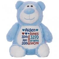 Bear Cubbie Blue