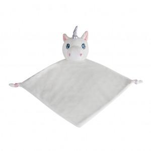 Unicorn White Blanket
