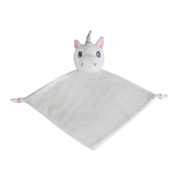 Unicorn White Blanket